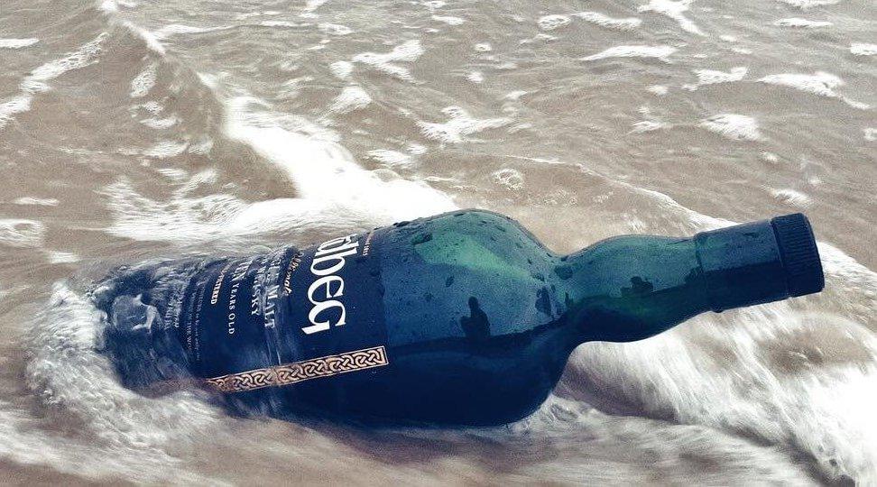 Whisky Ardbeg pływająca w Morzu Bałtyckim