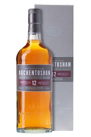Butelka 12 letniej whisky Auchentoshan