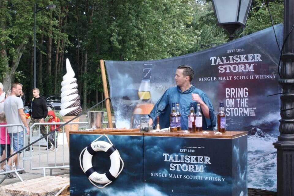 Stanowisko Talisker Single Malt Whisky
