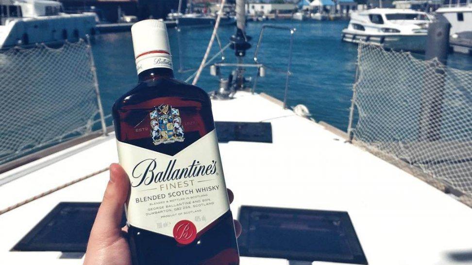 z czym pić whisky ballantines