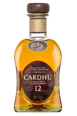 Butelka 12 letniej whisky Cardhu