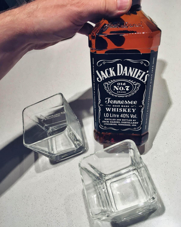 Jack Daniel's no 7 whiskey