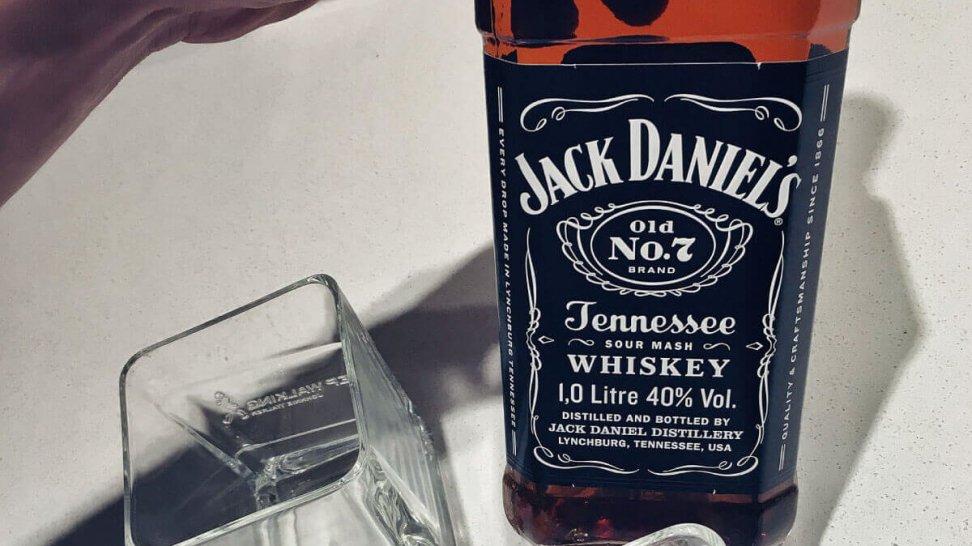 Jack Daniels Whiskey 0,7l