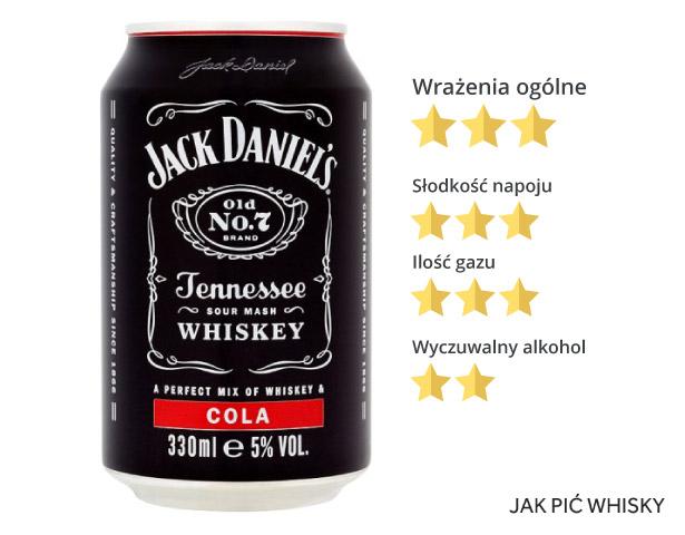 Jack Daniel's z colą w puszce