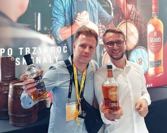 Grants Whisky podczas Whisky Live Warsaw