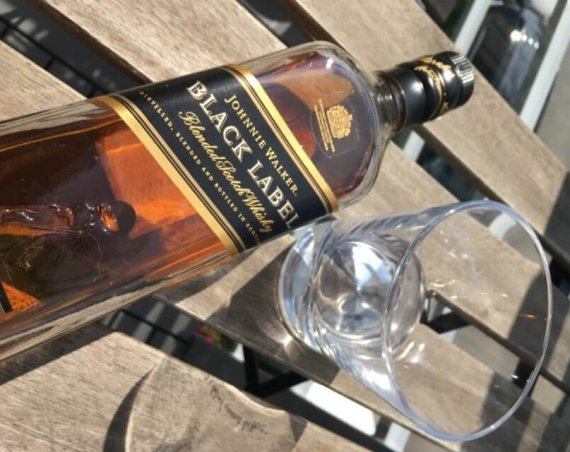 Johnnie Walker Black Label Scotch Blended Whisky