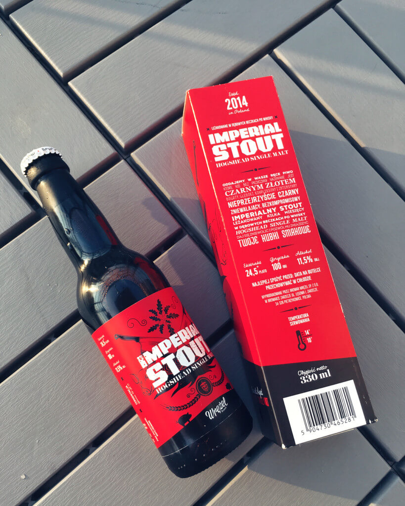 Imperial stout hogshead single malt od browar wrężel