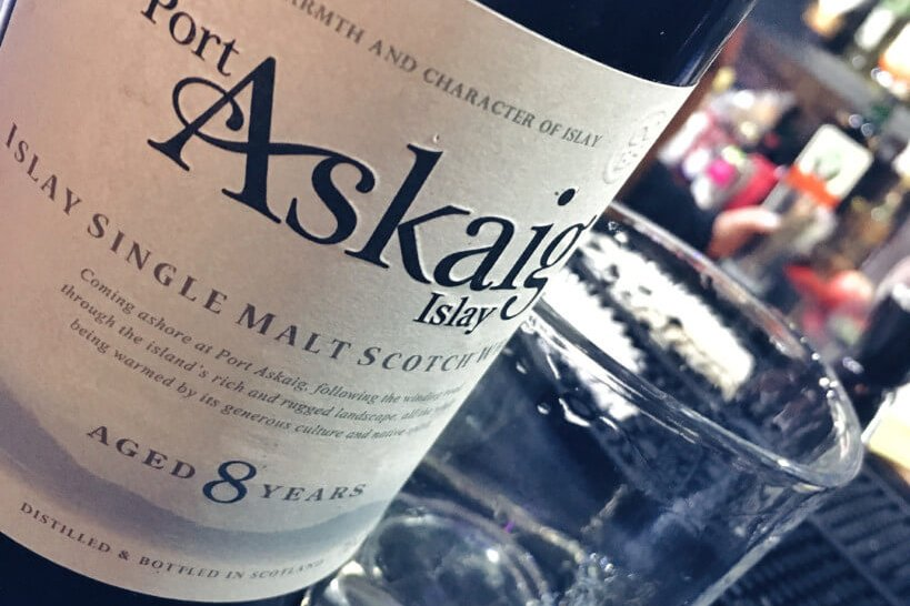 Butelka Port Askaig 8-letnia Single Malt Whisky
