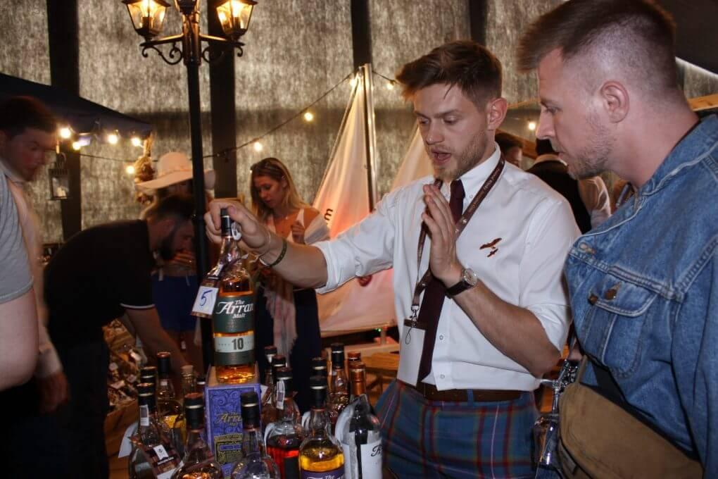 Andy Bell i Mariusz Kowalczyk na festiwalu Whisky w Jastrzębiej Górze 2017 rok