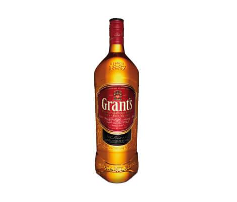 Butelka popularnej whisky mieszanej Grant's