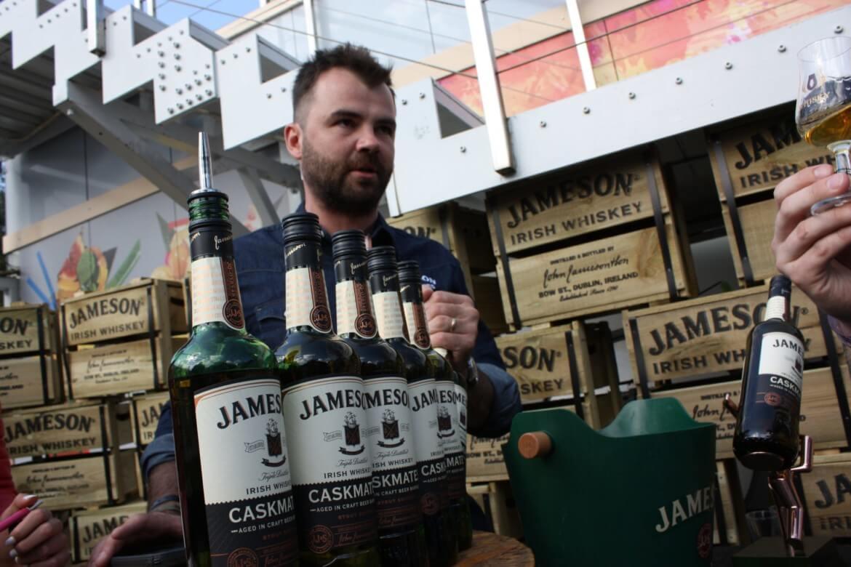 Stoisko Jameson na whisky festiwal Jastrzębia Góra 2017