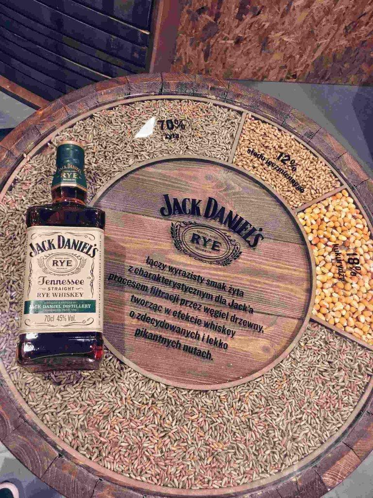 Żytnia whisky Jack Daniels Rye