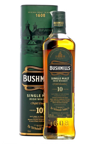 Bushmills Single Malt Irish Whiskey