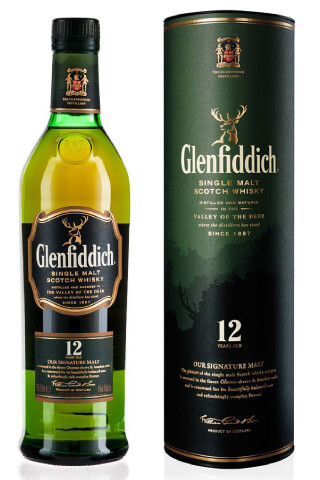 12 letnia Glenfiddich Whisky SIngle Malt