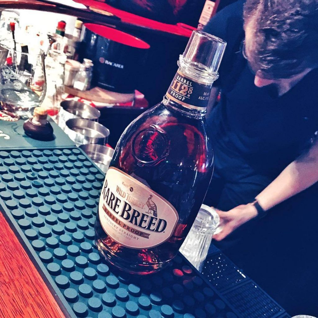 Wild Butelka Turkey Rare Breed Whiskey