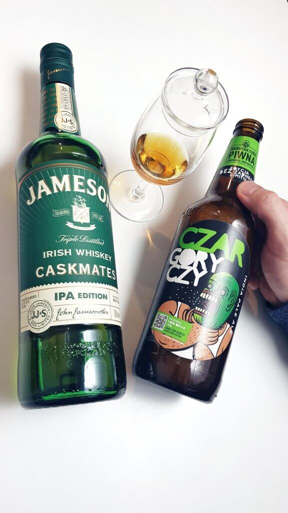 Jameson Irish Whiskey Caskmates IPA