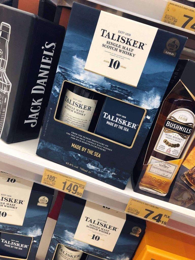 Talisker 10 whisky