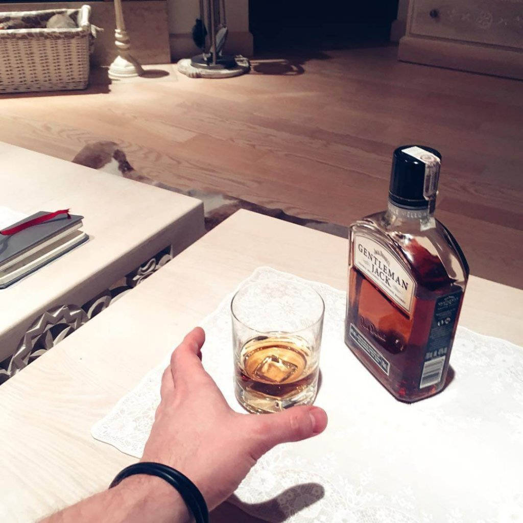 Butelka Jack Daniels Gentleman Jack
