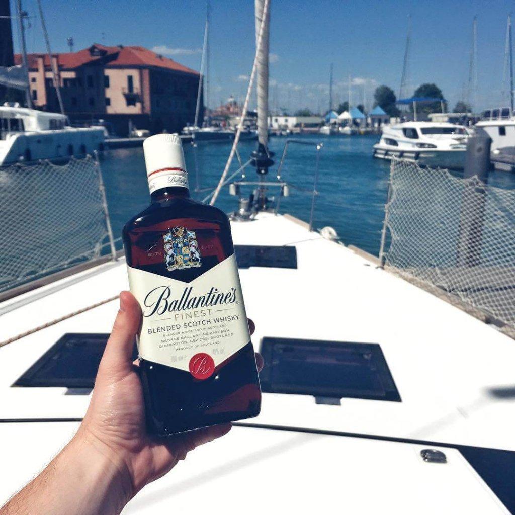 Butelka Whisky Ballantines Finest 0,7l