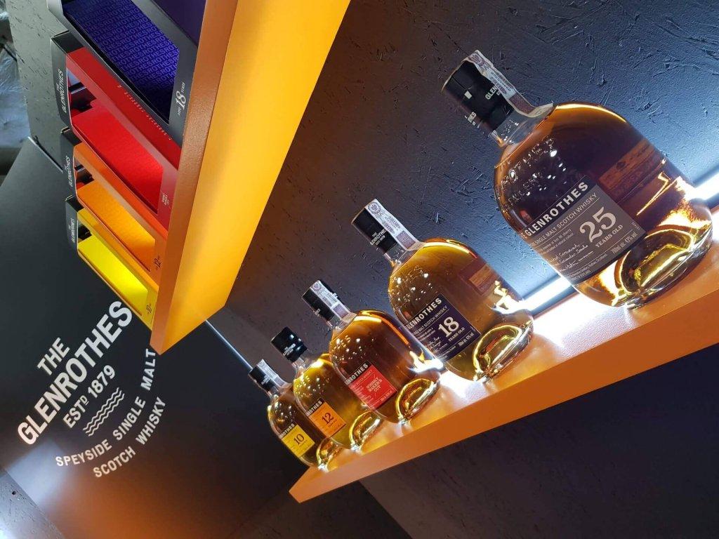 Kolekcja butlek Single Malt Whisky