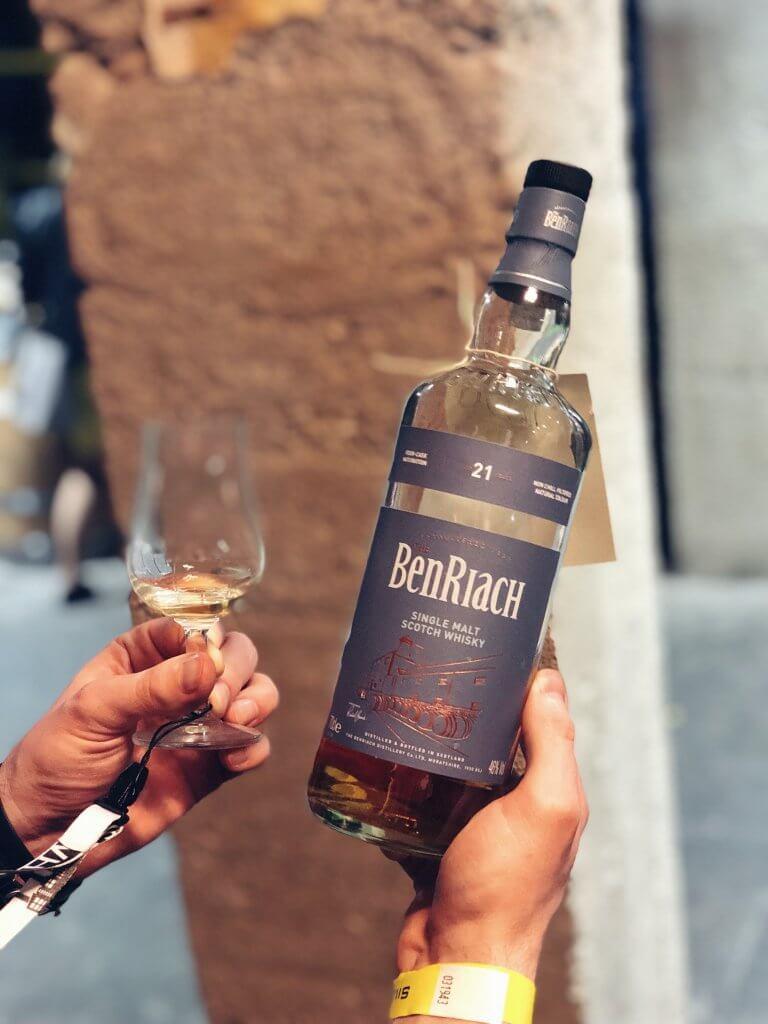 BenRiach 21 Single Malt Scotch Whisky