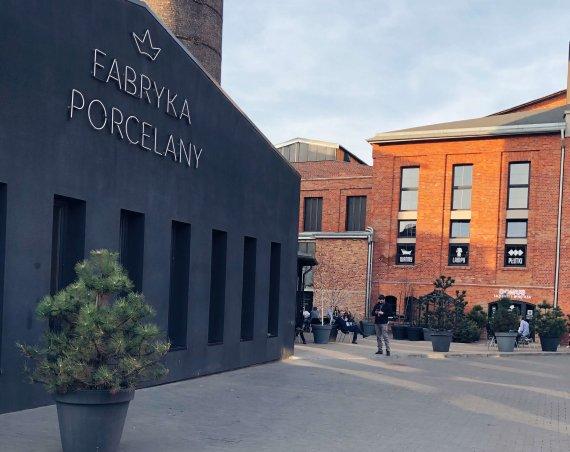 Fabryka Porcelany w trakcie Silesian Whisky Fest
