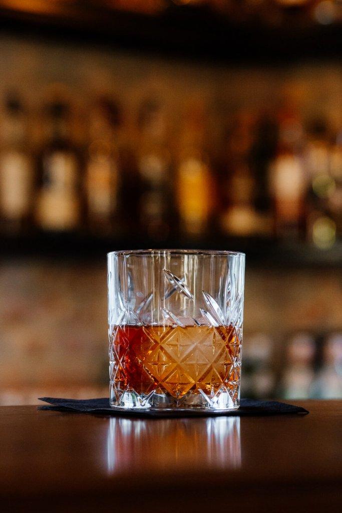 Kojtajl z whisky Old Fashioned