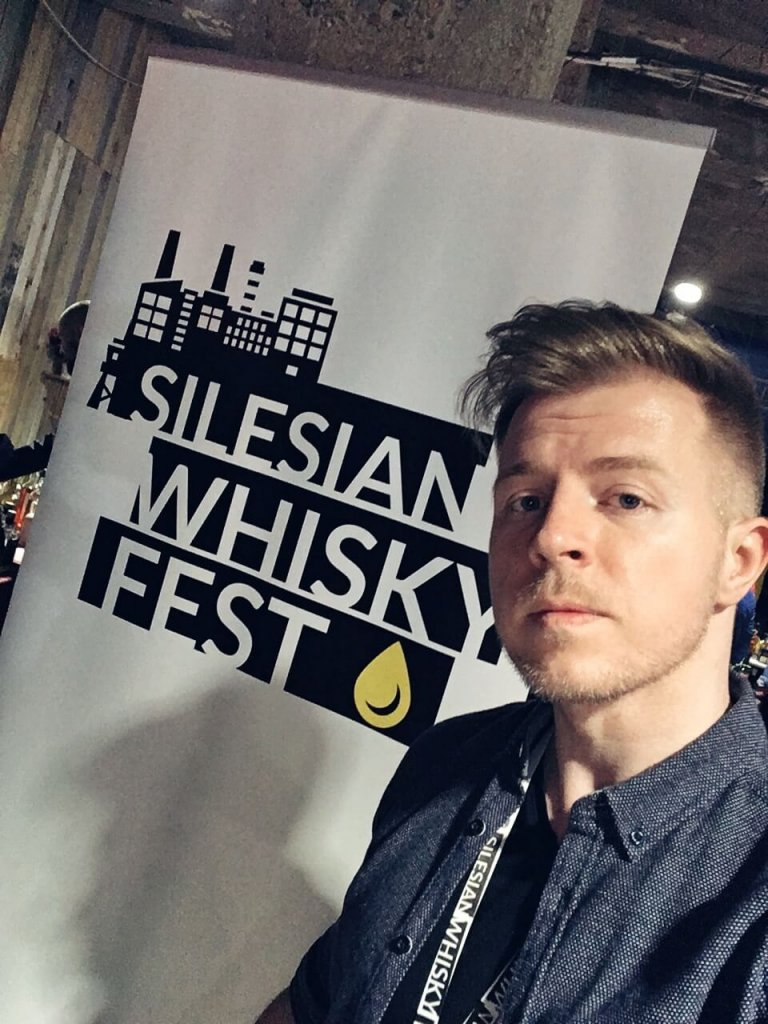 Mariusz Kowalczyk z jakpicwhisky.pl na Silesian Whisky Fest