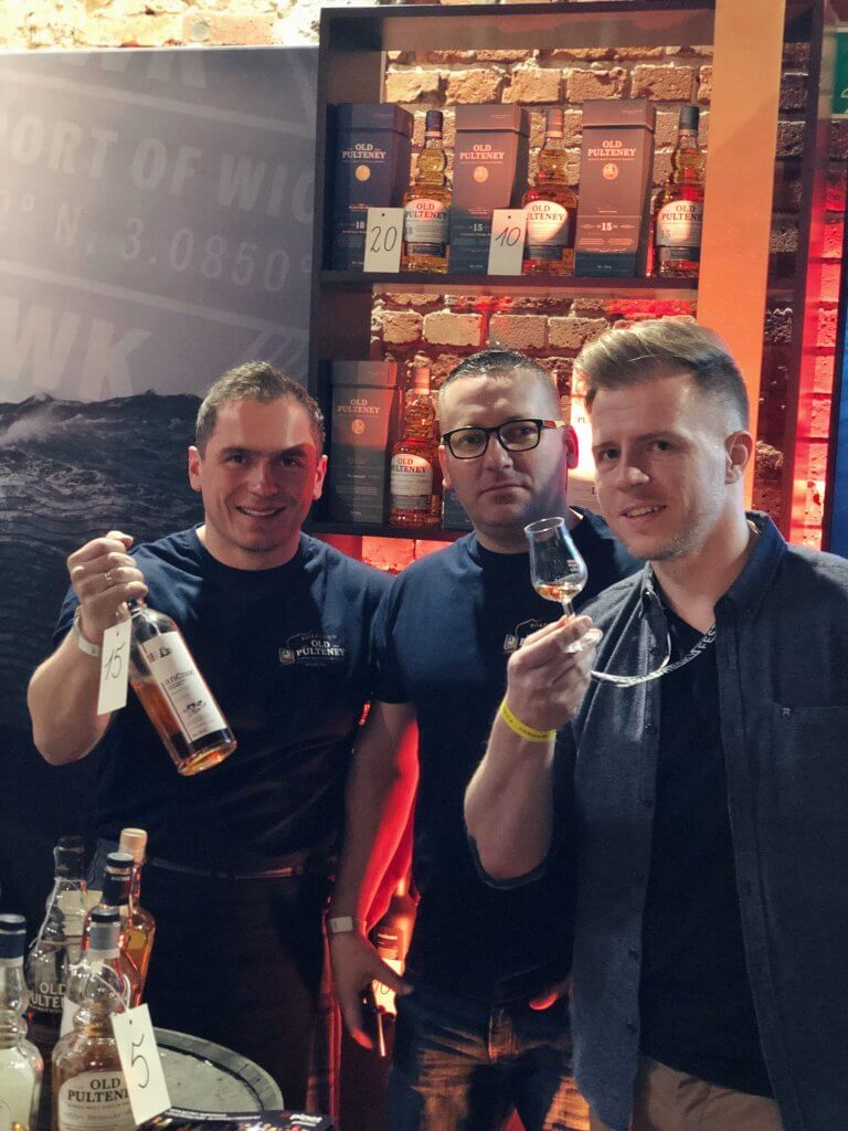 Podczas Silesian Whisky Fest z marką Old Pulteney