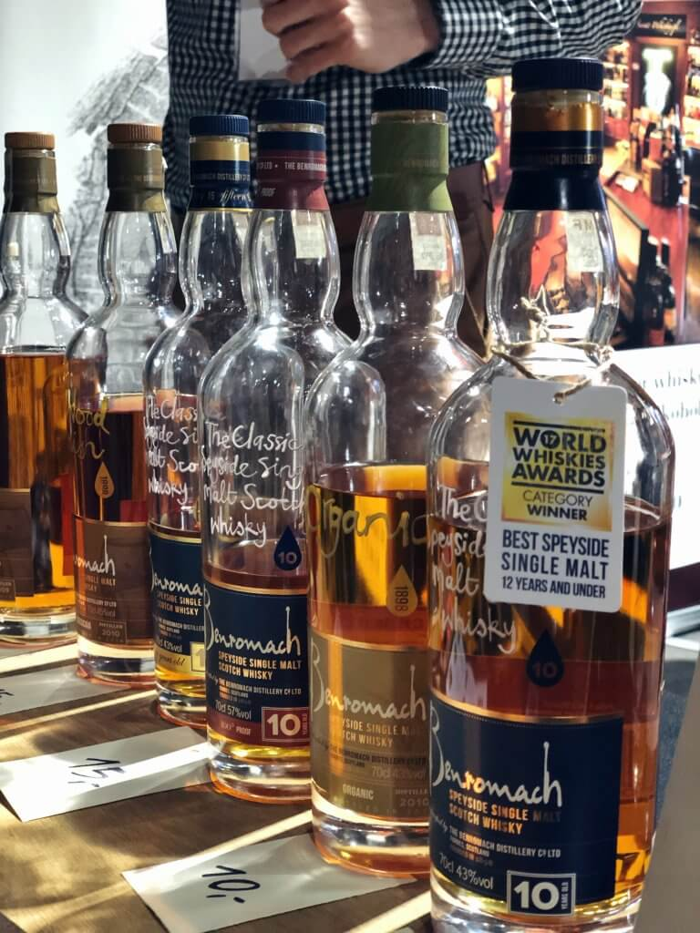 Benromach World Whiskies Awards Winner