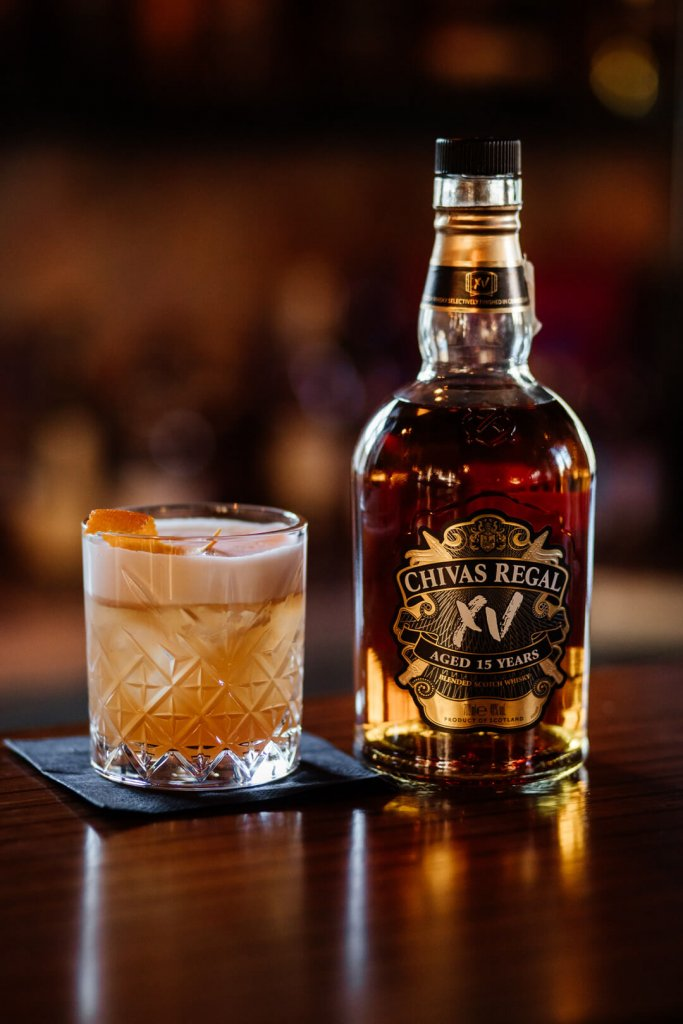 Whisky Sour ze szkocką whisky Chival Regal XV