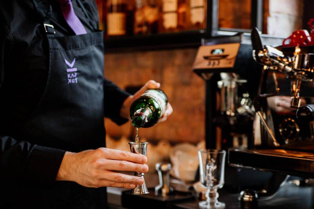Whiskey wykorzystwana do zrobieniaIrish Coffee