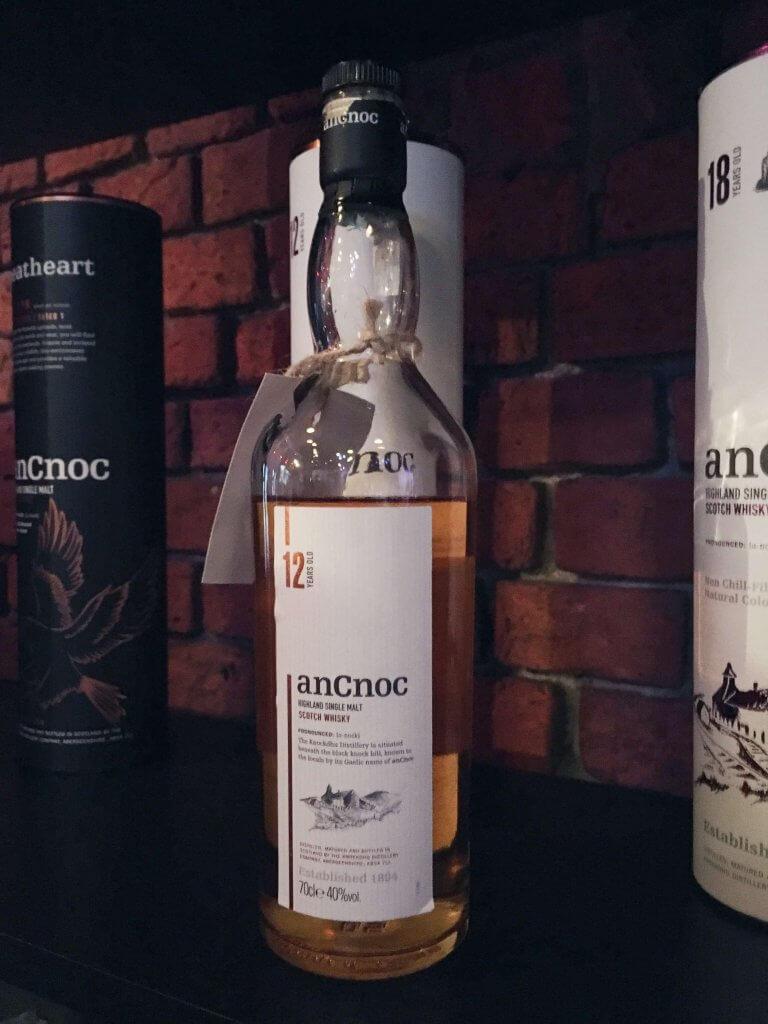 AnCnoc 12-letni na Whisky Day Cracow 2019