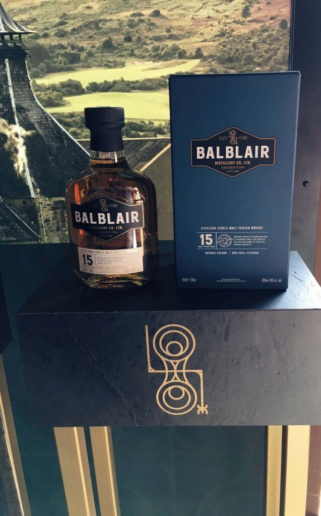 Balblair 15-letni na Whisky Day Cracow 2019