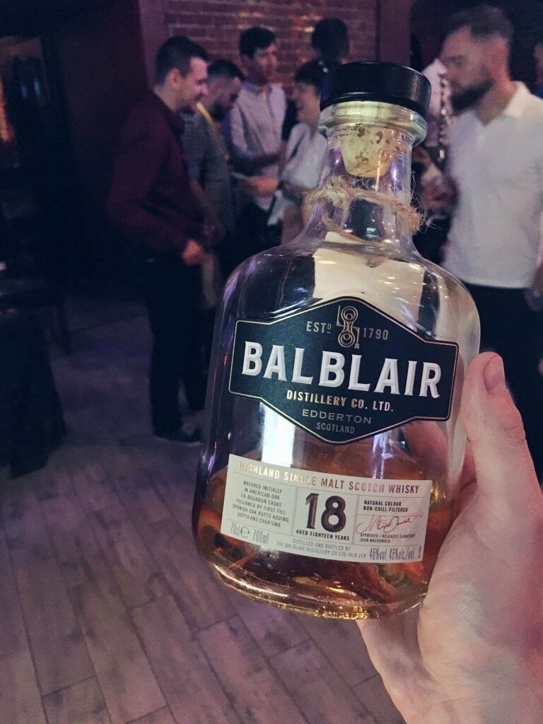 Balblair 18-letni na Whisky Day Cracow 2019