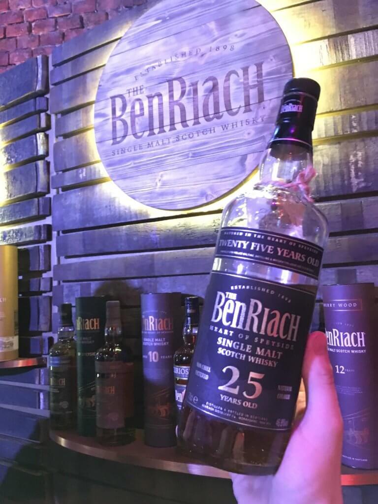 BenRiach 25-letni na Whisky Day Cracow