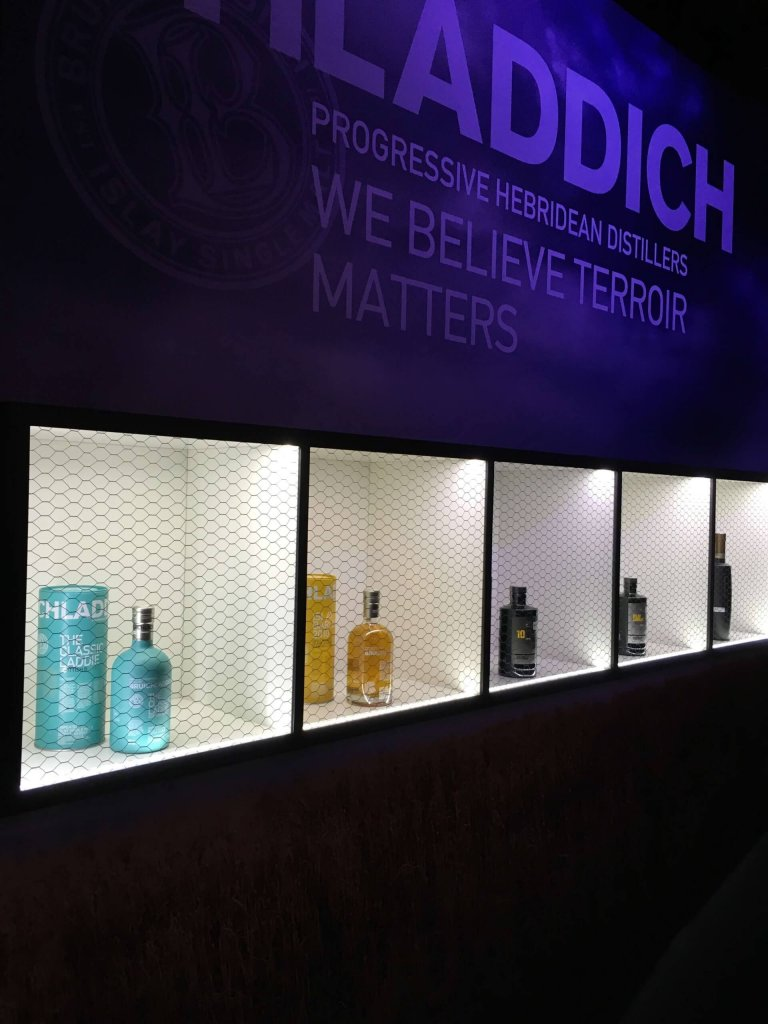 Whisky Bruichladdich na Whisky Day Cracow 2019