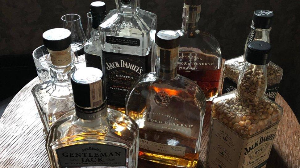 Degustacja Woodford Reserve Double Oak i Jack Daniels Single Barrel