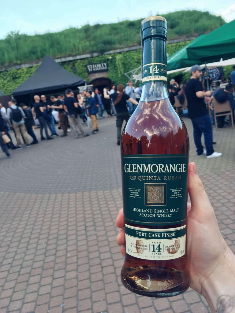 Glenmorangie Quinta Ruban 14 na Whisky Day Cracow 2019