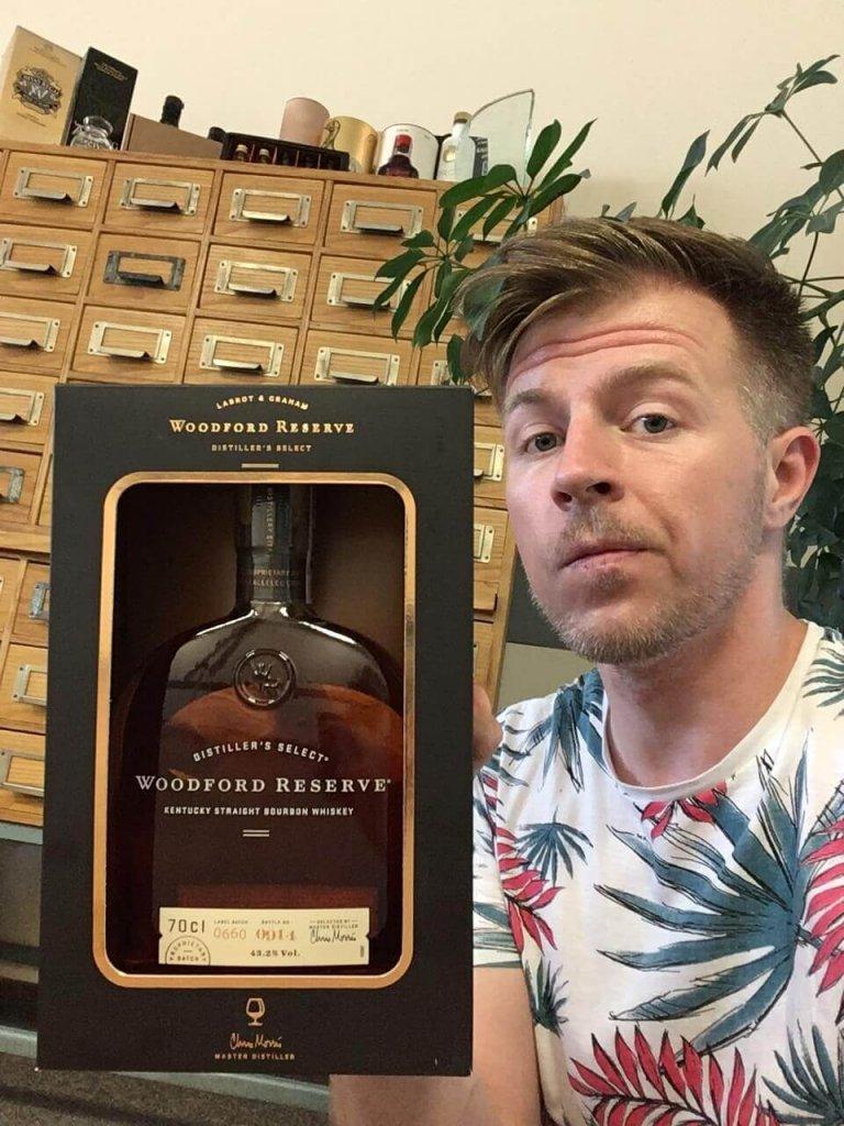 Mariusz z jakpicwhisky z Bourbon Woodford Reserve