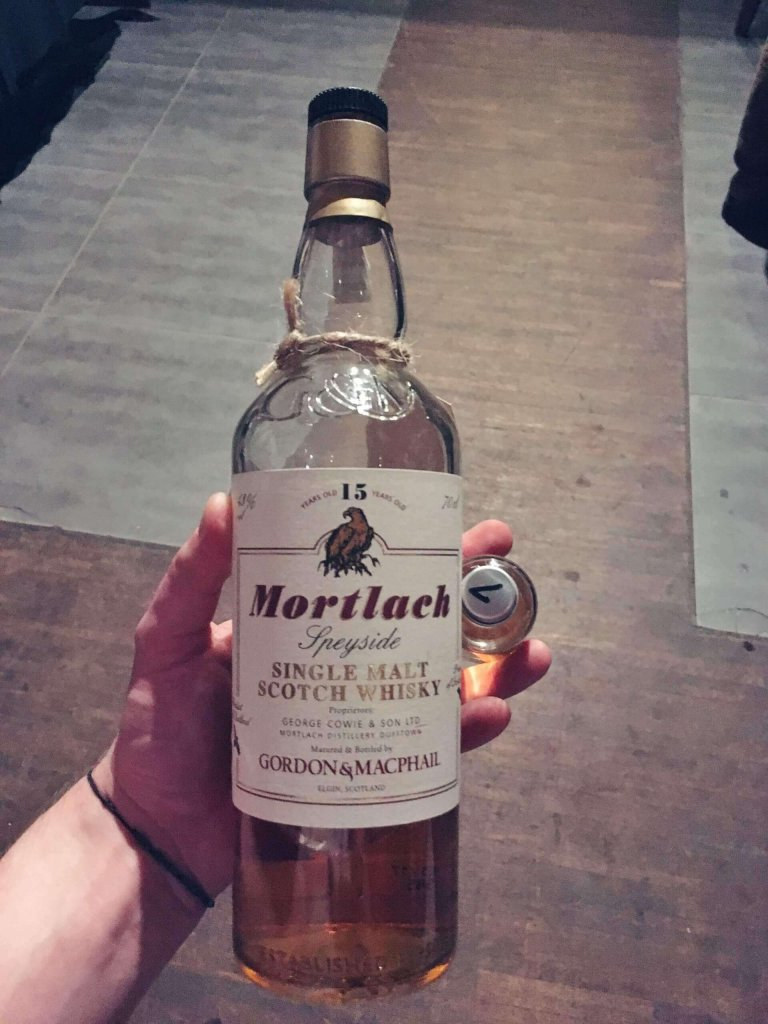 Mortlach 15 Gordon & Macphail Single Malt Scotch Whisky