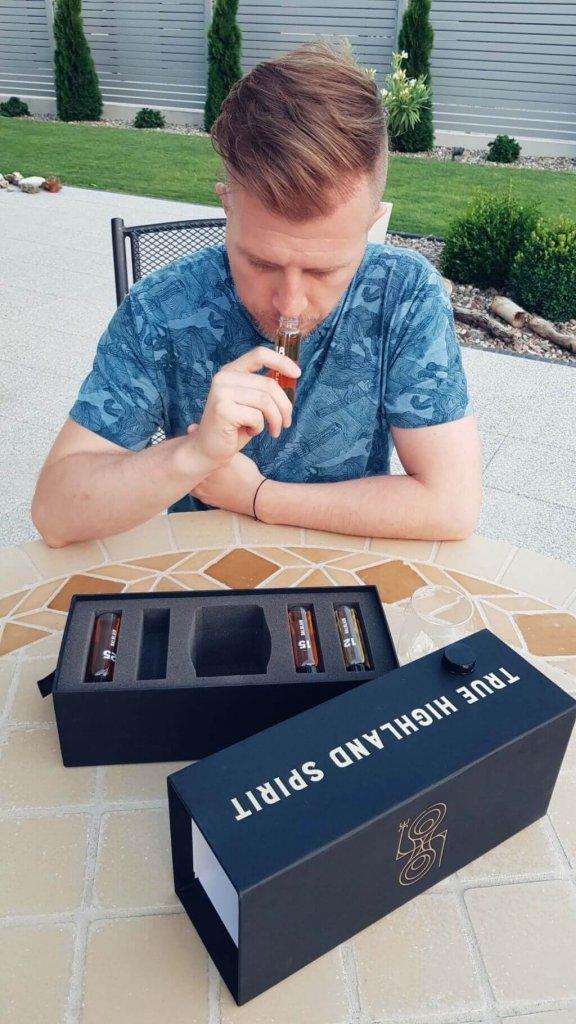 Mariusz Kowalczyk z bloga jakpicwhisky.pl i True Highland Spirit