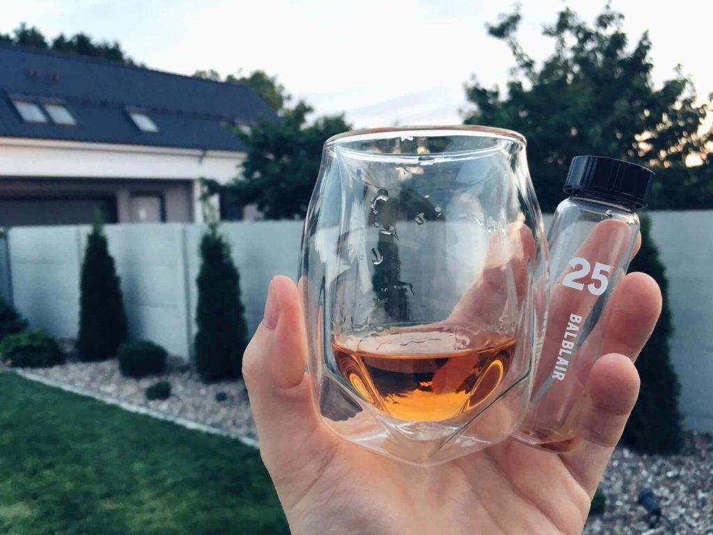 Norlan Whisky Glass i Balblair 25-letni