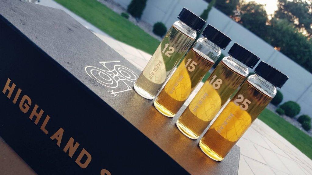 Portfolio whisky marki Balblair