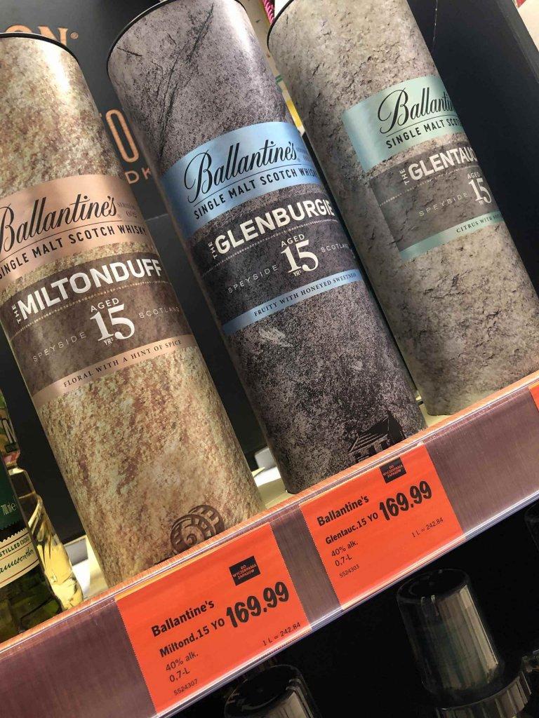 Whisky Ballantine's Miltonduff 15 Lidl