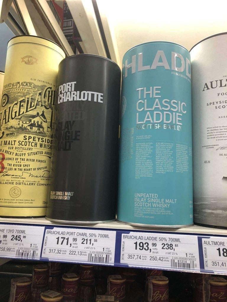 Bruichladdich islay Whisky Makro
