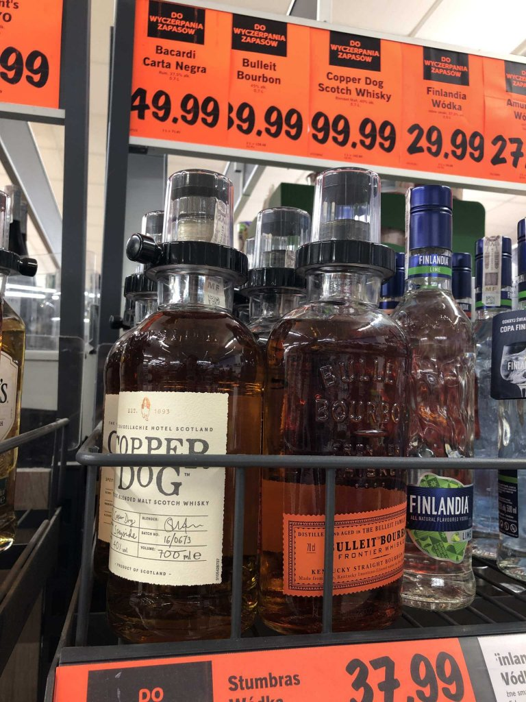 Copper Dog, Bulleit Bourbon Lidl