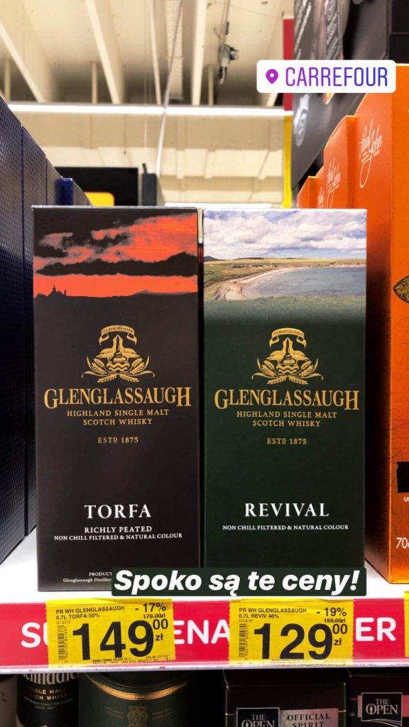 Glenglassaugh Torfa, Revival Carrefour Pormocja