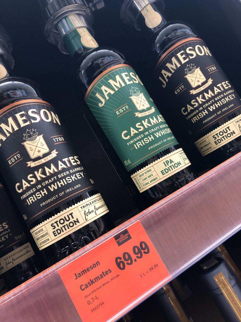 Jameson IPA Caskmate Lidl