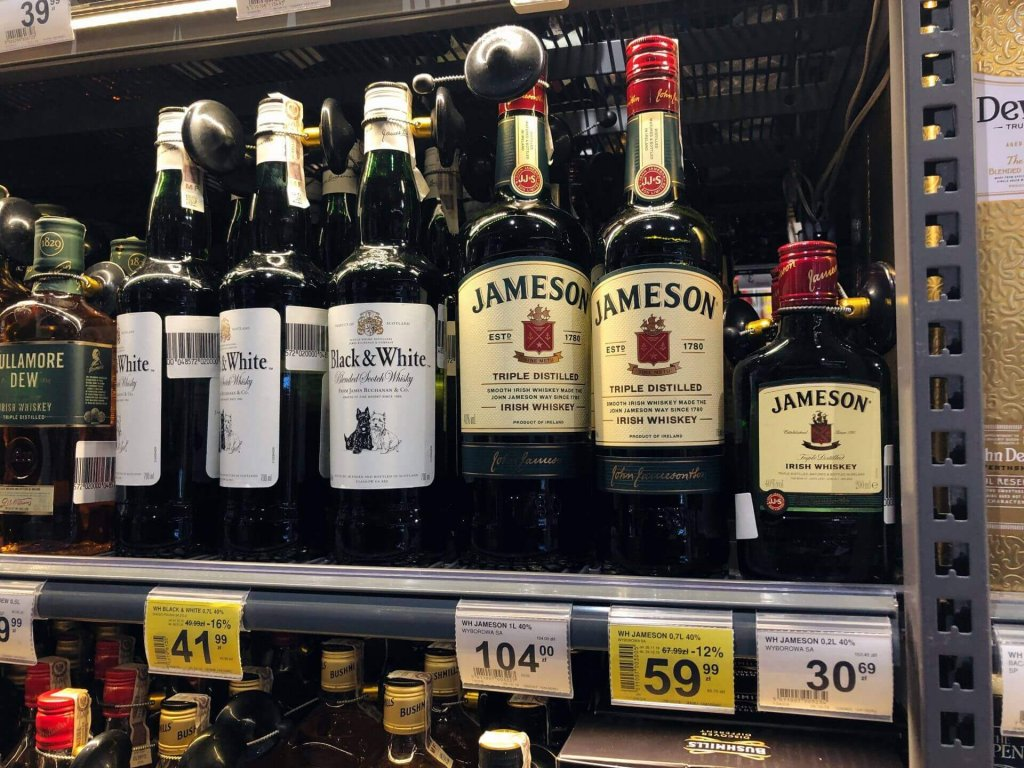 Jameson Triple Distilled promocja Auchan